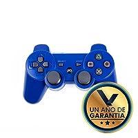 Control Inalámbrico Bluetooth Azul para PlayStation 3