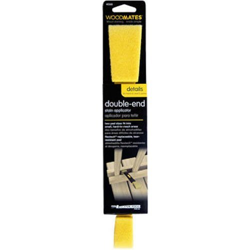 Mr. LongArm 0368 Woodmates Double-End Stain Applicator (Staining Outdoor Wood)