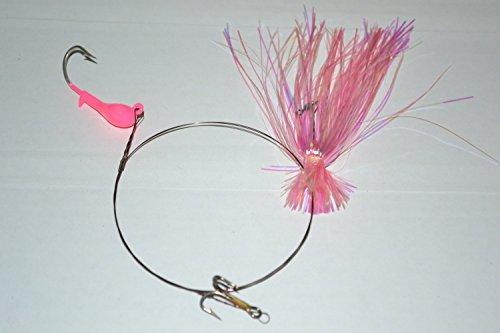 Blue Water Candy 33551 Dead Bait Rig, Pink Finish