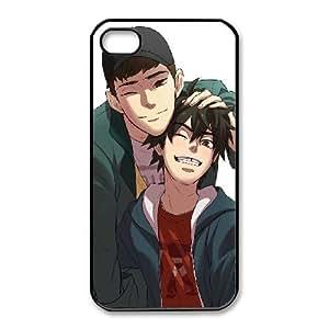 Fashion image DIY for iPhone 4 4s Cell Phone Case Black Tadashi Hamada Big Hero 6 BAM2936404