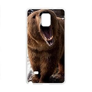 Snow Bear Custom Protective Hard Phone Cae For Samsung Galaxy Note4