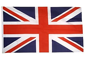 United Kingdom Union Jack Flag 5'x3' [Misc.]: Amazon.co.uk