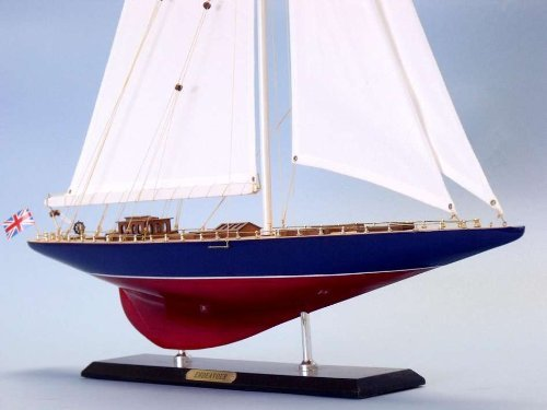 Endeavour Limited 35'' - Model Wooden Sailboat - Model Sailing Ship - Ship Model