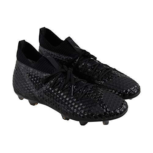 PUMA Future 18.1 Netfit Fg Ag Mens Black Synthetic Soccer Cleats Shoes 7