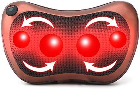 Top 10 Best shiatsu massage pillow Reviews