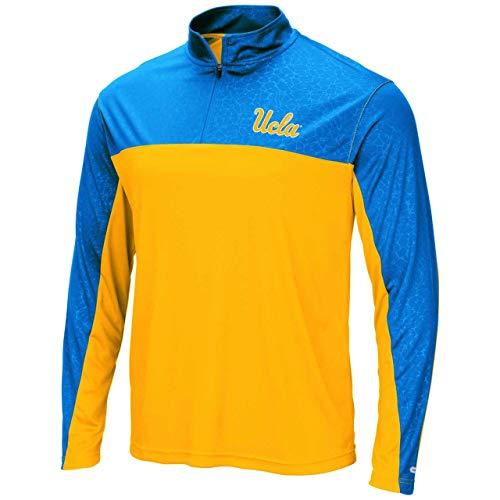 UCLA Bruins Adult Luge 1/4 Zip Windshirt - Team Color, Large