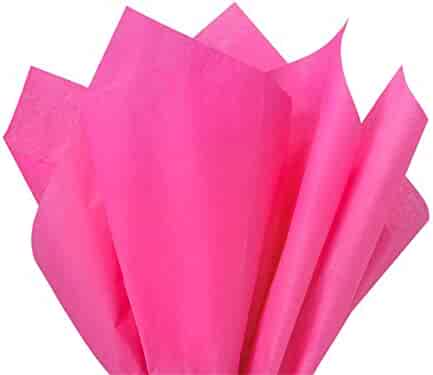 Brand New Cerise Dark Hot Pink Fuschia Bulk Tissue Paper 15 Inch x 20 Inch - 100 Sheets