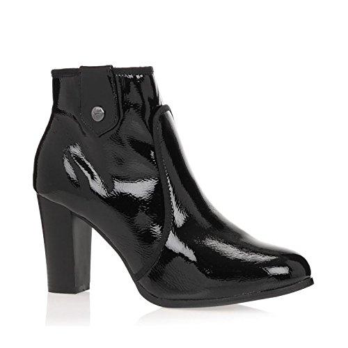 Initiale Paris Botines Gipsy zapatos mujer 37, Negro (otro), 37: Amazon.es: Zapatos y complementos