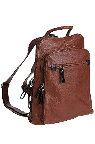 Macy Leather Backpack Purse by Overland Sheepskin Co