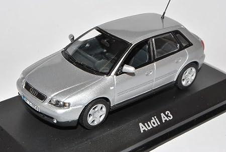 Minichamps A U D I A3 8l Sportback Silber 5 Türer 1996 2003 1 43 Modell Auto Spielzeug