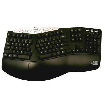 Adesso Ergo Keyboard Combo Black