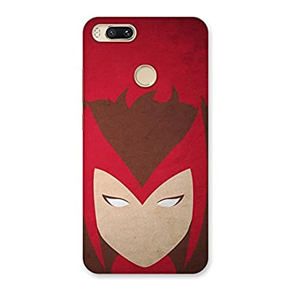 Strong Woman Mask Back Case Cover for Xiaomi MI A1: Amazon