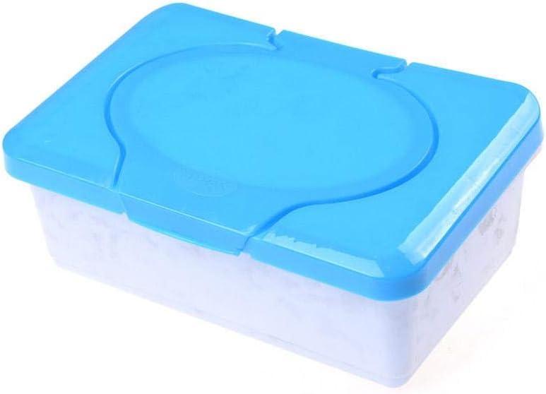 Mona43Henry Caja de toallitas reutilizables Caja de toallitas de viaje Caja de extracci/ón de toallitas Caja de servilletas de protecci/ón ambiental para beb/és Caja de almacenamiento