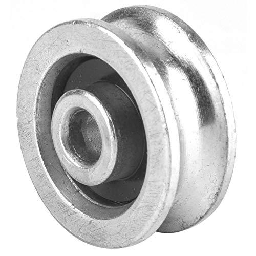 Lagerwiel betrouwbaar katrolrolwiel eenvoudig te bedienen Hoge kwaliteit voor hijsen Professioneel gebruik Katrol voor28mm in diameter