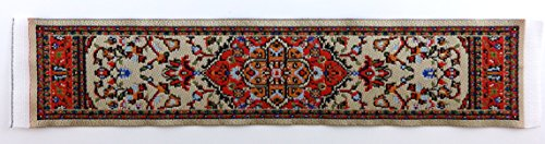 Melody Jane Dolls House Small Turkish Woven Carpet Runner Miniature Rug 1:12 Accessory 26