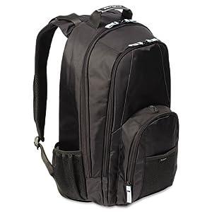 17 Groove Laptop Backpack Book Storage Media Pocket Water Bottle Holders