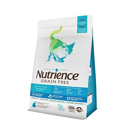 2.5kg (5.5lb) Nutrience Grain Free Ocean Fish Cat Food (5.5lb)