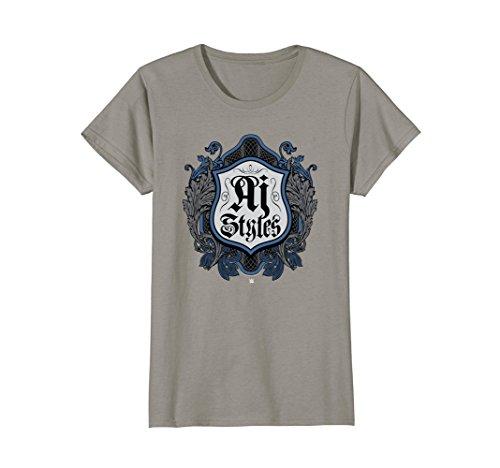 Womens WWE AJ Styles Crest XL Slate by WWE