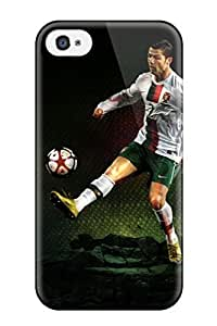 Awesome Cristiano Ronaldo Soccer Cleats Flip Case With Fashion Design For Iphone 4/4s