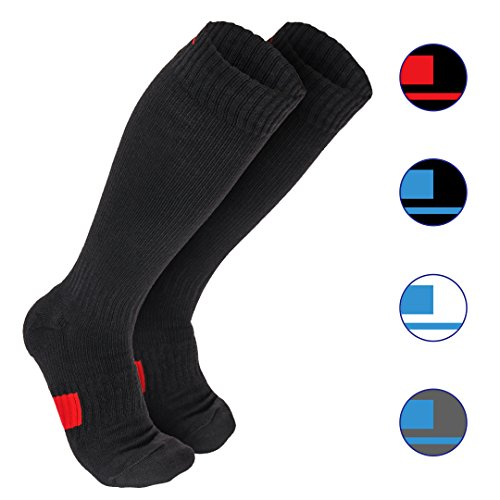- Wanderlust Compression Socks For Men & Women - Guaranteed Support To Eliminate Pain, Swelling, & Edema - Best For Flight, Travel, Nurses, Maternity, Pregnancy, Varicose Veins, Stamina & Pain Relief
