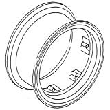 """A & I Products Rim, Rear Wheel 9"""" x 28"""" 6 Loop Replacement for Massey Ferguso..."""