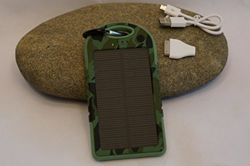 Portable Waterproof Solar Charger Camo ()