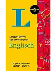 Langenscheidt Schulwörterbuch Englisch: Englisch-Deutsch / Deutsch-Englisch – mit Wörterbuch-App