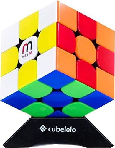 Cubelelo Gans 356 R 3x3 Elite Magnetic Stickerless Rubik Rubix Rubic Speed Cube