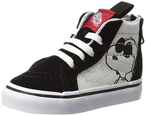 - Vans UY Sk8-Hi Zip (Peanuts) Joe Cool/Black VN0A3276OQU Kids 12