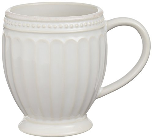 Lenox French Perle Everything Mug, (Lenox Stoneware Mug)