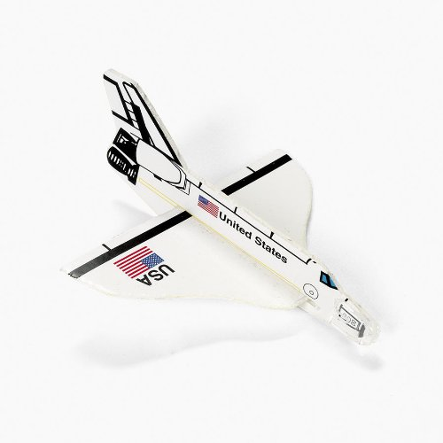 Foam Space Shuttle Gliders (1 dz) Fun Express 36130
