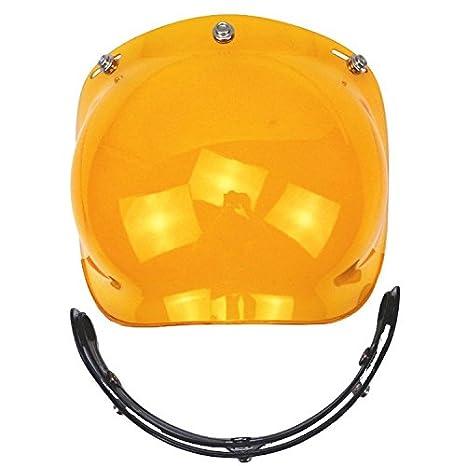 43276d93 Amazon.com: Motorcycle Helmet Bubble Shield with Flip Adapter for T50 Helmet  (Orange): Automotive