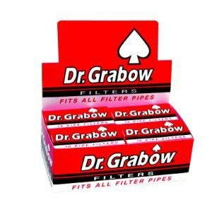 Dr. Grabow Pipe Filters - 12 Boxes of 10 Filters -  BM-B710-R3L0