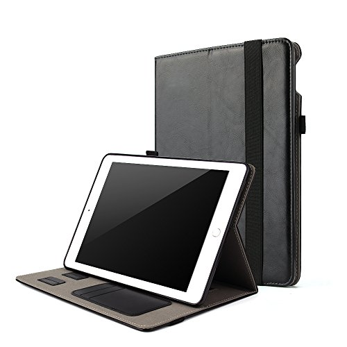For iPad 5th Generation Case 2017 9.7 inch Leather Folio Sma