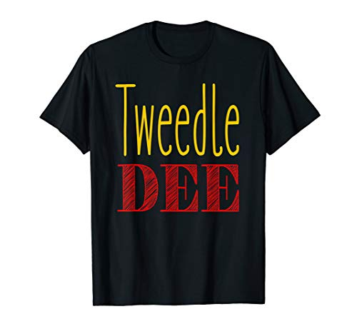 Tweedle Dee T-Shirt Halloween Costume Tee -