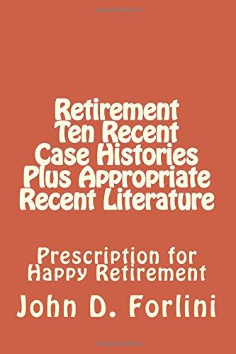 Retirement Histories Appropriate Literature Prescription