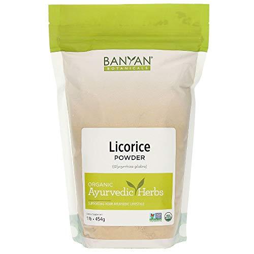 Banyan Botanicals Licorice Root Powder, 1 Pound - USDA Organic - Glycyrrhiza glabra - Ayurvedic Herb for Lungs, Skin, Stomach ...