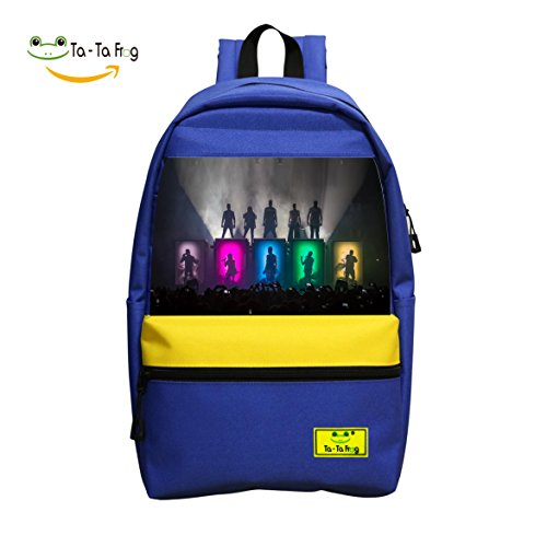 Pentatonix Sing Off Christmas - Voices Pentatonixy Stage Logo Book Bag School Bag Backpack Casual Satchel for Boys Girls
