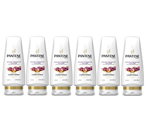 Pantene Pro-V Color Preserve Volume Conditioner 12 fl oz (Pack of 6)