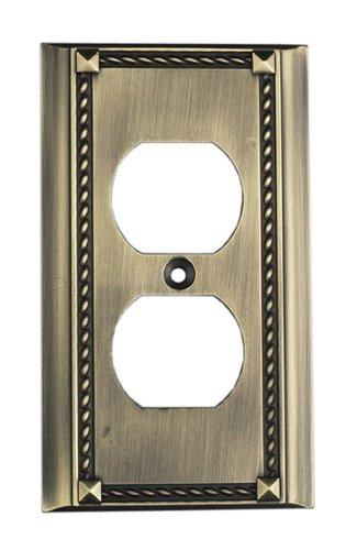 Elk 2500AB Antique Brass Single Switch (Clickplate Antique)