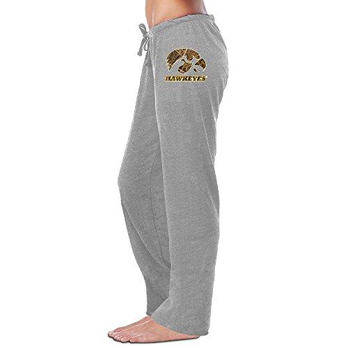 (TopBee Iowa Hawkeyes Comfortable Sweatpants Ash)