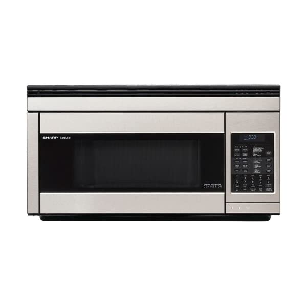 Sharp 1.1-Cubic-Foot 850-Watt Over-the-Range Convection Microwaves