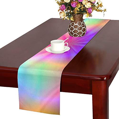 WBSNDB Spiritual Balance Zen Relaxation Rest Table Runner, Kitchen Dining Table Runner 16 X 72 Inch for Dinner Parties, Events, Decor
