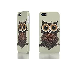 Apple iPhone 4 / 4S Case - The Best 3D Full Wrap iPhone Case - Coffee_Owl