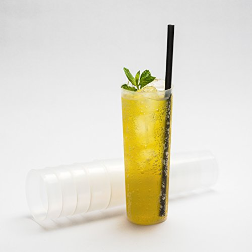 Flexible Plastic Highball Glasses Pack Of 30