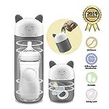 Outdoor Travel Portable Baby Feeding Bottle Sterilizer Sterilizing Tool for Baby Nursing Bottle Toy (Not Including Battery)