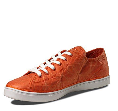 Unstitched Verktyg Kvinna Nästa Dag Låg Designer Tyvek Mode Sneakers Apelsin
