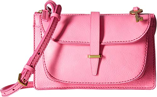 Fossil Women's Ryder Small Crossbody Neon Pink One Size