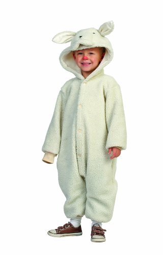 RG Costumes Lamb, White, 3T/4T