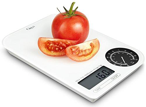 Ozeri Digital Kitchen Weight Dial, White